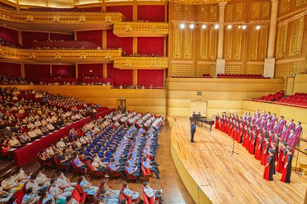 相聚英雄城,启航新征程!第十六届中国合唱节在武汉开幕