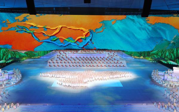 《伟大征程》用了4000多只灯,比奥运会多了1/3