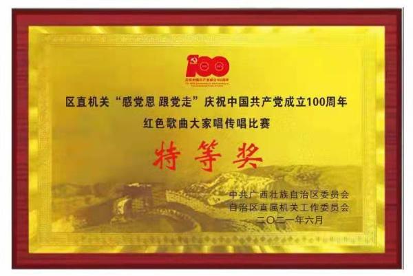 """广西文化和旅游厅多个作品在""""感党恩 跟党走""""系列主题活动中获佳绩!"""