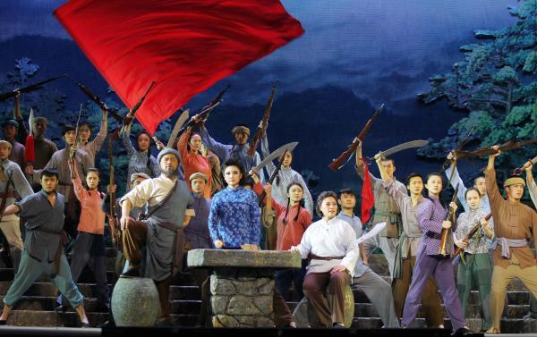 歌剧《江姐》即将在北京上演 唱响张桂梅最爱的《红梅赞》