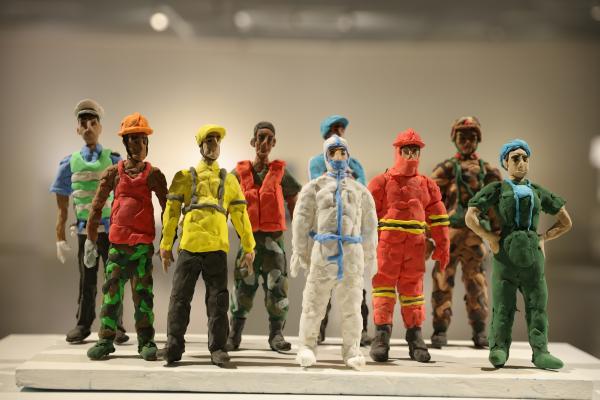 缤纷童趣 手塑青春——2021第四届中国青少年雕塑大展亮相大同