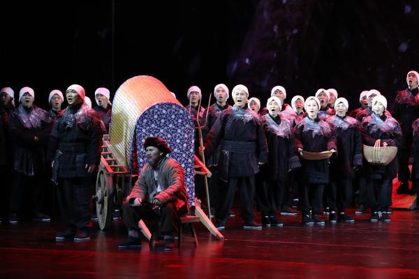 舞台剧《永乐宫纪事》:演绎文物搬迁史上的一次奇迹