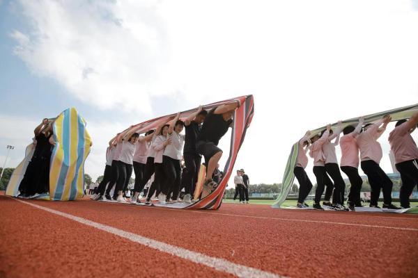 安徽天长社区运动会 文旅结合有益又有趣