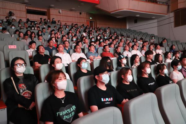 音乐电影《心语誓言》在山东艺术学院首映