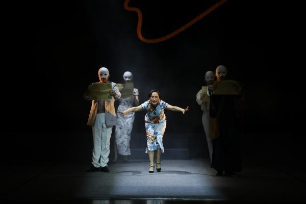 越剧《阮玲玉》在中国戏曲学院首演