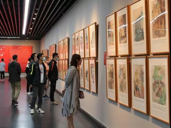 多彩形式展中国优秀经典故事连环画