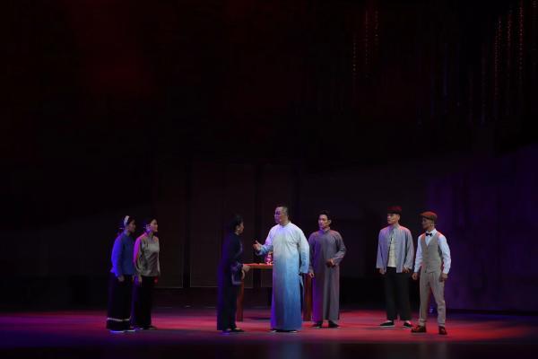 广西博白县以桂南采茶戏展示了八桂革命先驱朱湘最初的信仰