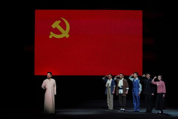 新编现代京剧《李大钊》在国家大剧院上演