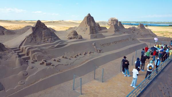 来沙湖,探秘梦幻西游——中国首个游戏主题沙雕群开放