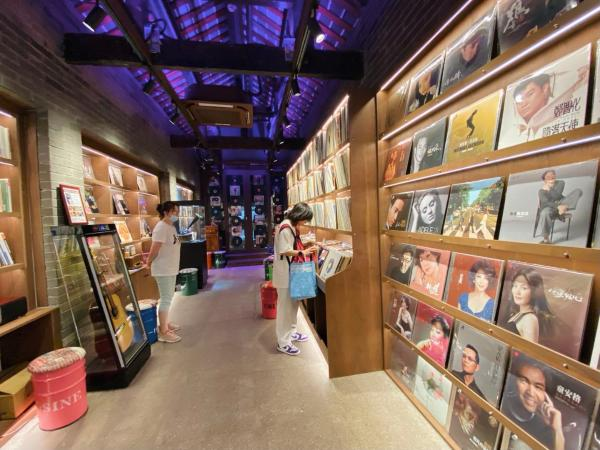 成都首家唱片博物馆落地宽窄巷子