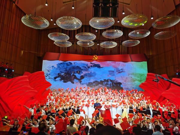 唱山歌 跟党走 安徽群众大家唱歌咏大会落幕