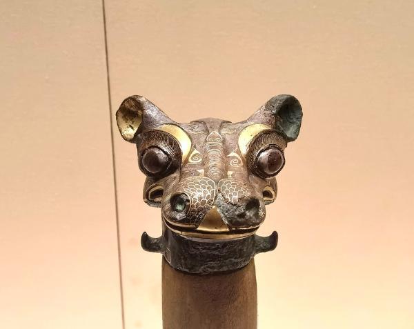 看见文物 | 它是战国时期错金银铜器的典型代表作品之一