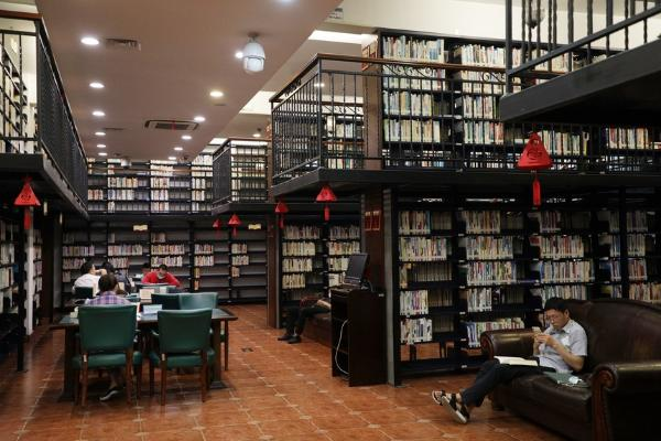 杭州图书馆主题分馆:与百姓生活零距离