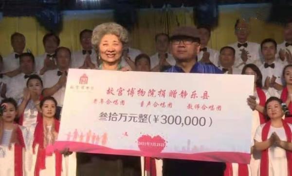 静乐县为我们的党唱响祝福之歌