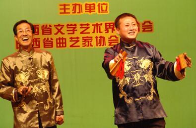 百城百艺 非遗名录   三秦大地上的传统说唱艺术