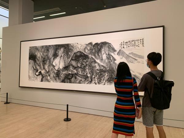 望岳——看刘罡的笔墨山川 海岱气象