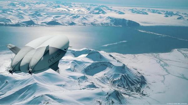 飞艇极地游奢华体验到来,百年交通工具能否迎来新生?