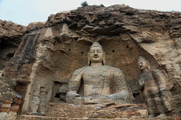 山西云冈石窟为游客提供丰富的线上旅游资源