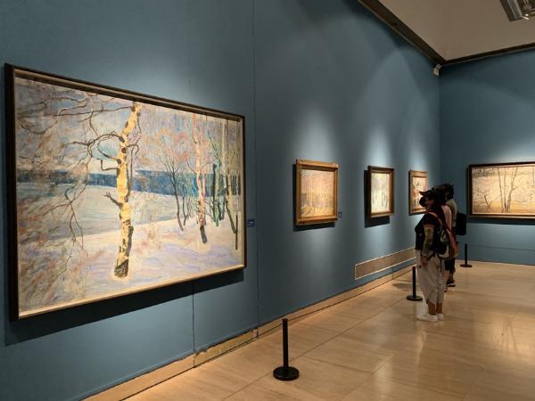 70件作品7大板块 郑光旭近30年来具有代表性的绘画作品集中展出