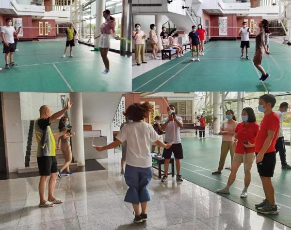 """湖南省文化馆积极开展""""强身健体、运动抗疫""""活动"""