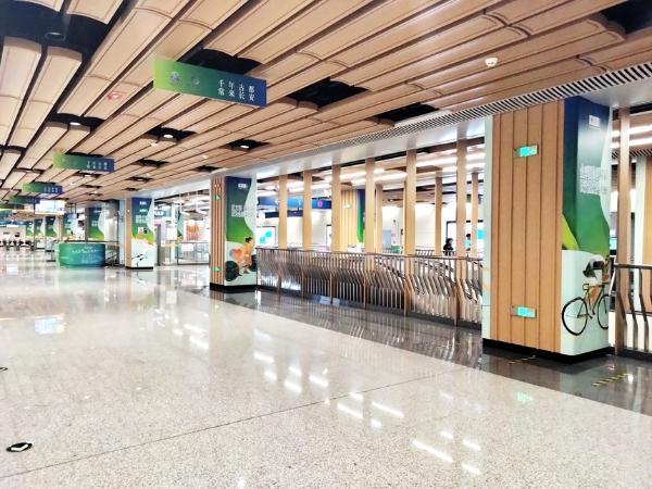 以文化营造全运氛围 西安打造十四运会地铁主题车站