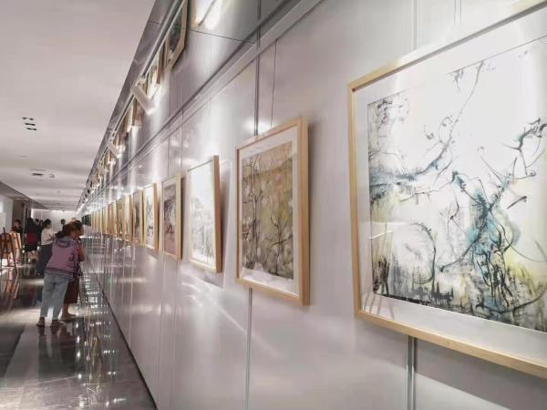梁修熙、王衍玉绘画作品展——当代艺术探索