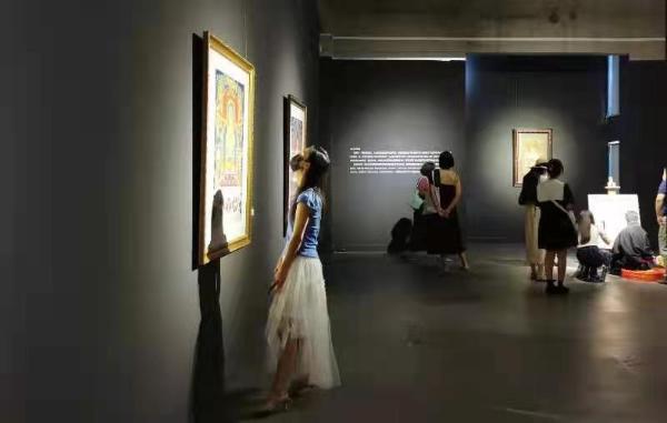 《素心若雪—中国唐卡艺术精品展》亮相李可染画院