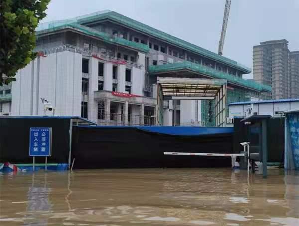 连续排水八天七夜助香玉剧院脱险