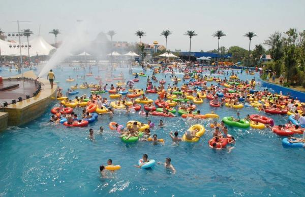 在水上乐园玩耍有多爽?这份安徽的亲水地图请签收!