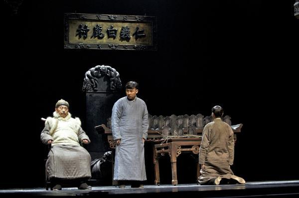陕西原创话剧《白鹿原》:6年巡演、服务60余万观众