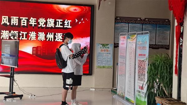 滁州市文化馆开放不忘防疫情