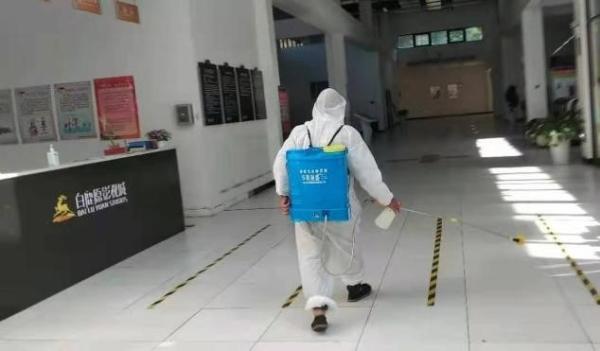 为游客营造放心空间 陕西白鹿原影视城全员核酸检测
