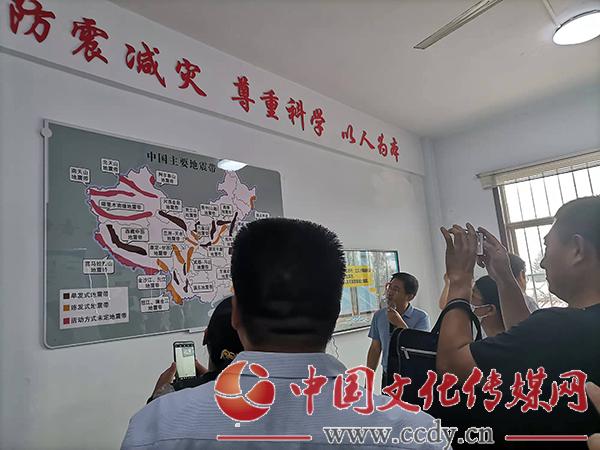 """山东沂南:辛集镇探索建立中长期 防震减灾""""网格化""""管理机制"""