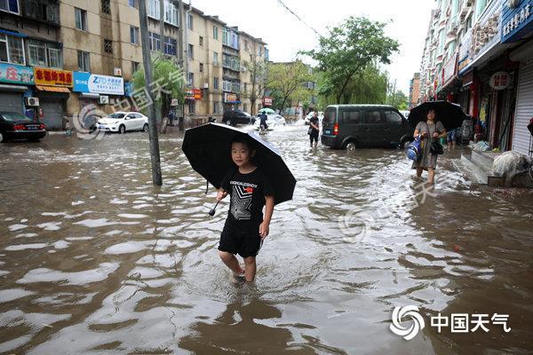 辽宁启动气象灾害暴雨二级应急响应 鞍山抚顺等有大暴雨