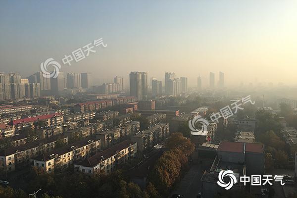 华北黄淮霾今夜消散 本周冷空气主攻北方