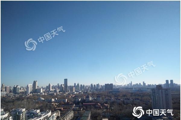 津城今日蓝天在线空气质量全优 明后天有中到重度霾