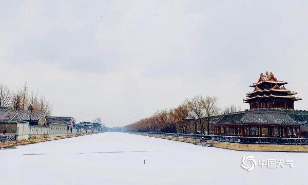京城白雪漫天舞 千年古城尽复活