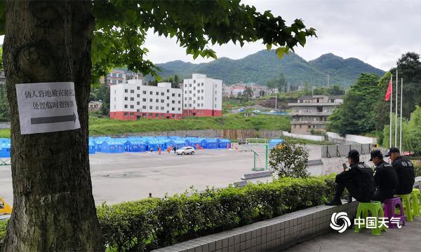 贵州金沙仙人岩岩体崩塌 天气有利后续救援