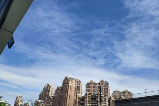 福建雨水渐弱气温升 周末接近30℃
