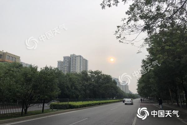 出门带伞!今明天北京将遇全市性雷雨天 局地或有强对流