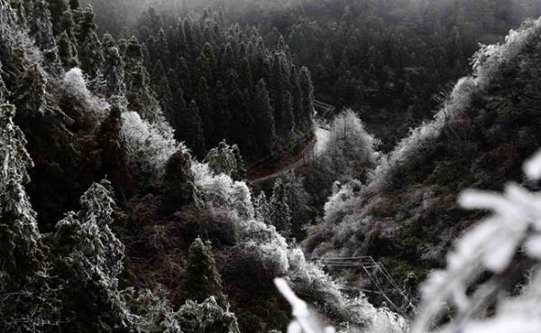 重庆周末高海拔地区将飘雪 上山赏景需注意保暖