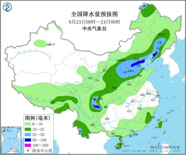 北方新一轮大范围降雨明起来袭 东北等地开启入秋进程