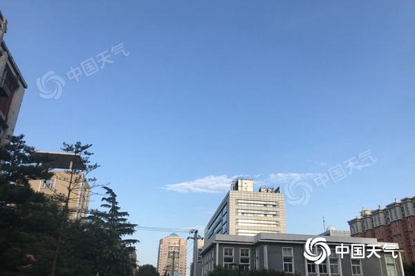 北京今有小到中雨 傍晚前后局地或有雷雨大风和冰雹