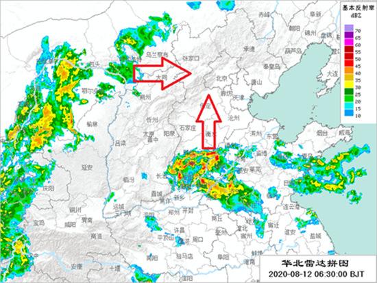 今日北京将迎今年入汛来最强降雨 傍晚到前半夜为降雨核心时段