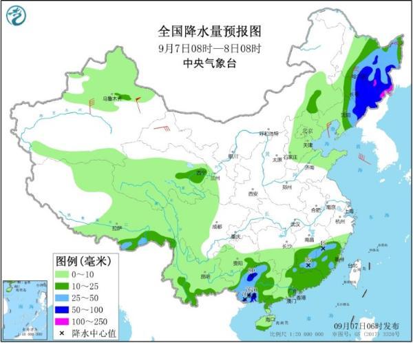 """台风""""海神""""影响东北今起风雨增强 北方多地气温将创新低"""