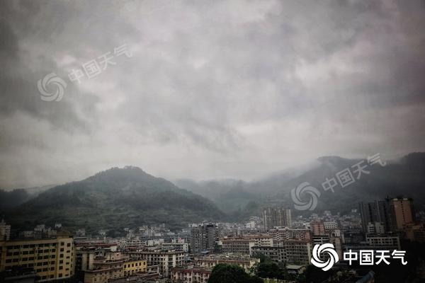 中东部今明天迎主要降水时段 江淮江南气温持续偏低