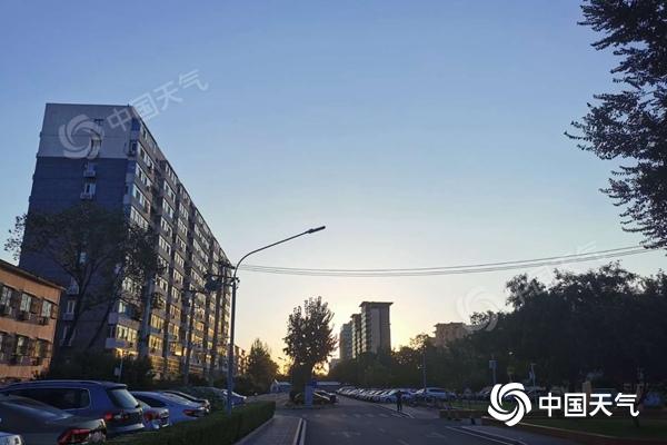 未来三天北京晴朗在线 早晚偏凉需添衣保暖