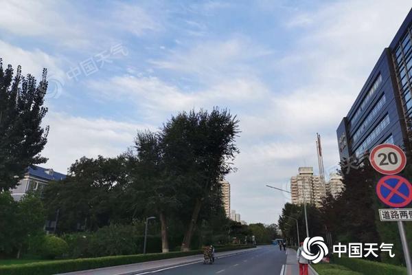 7级阵风+降温!冷空气将袭北京 最低气温不足10℃