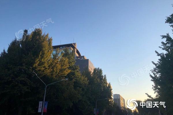 北京晴天持续在线 今天有三四级北风昼夜温差大