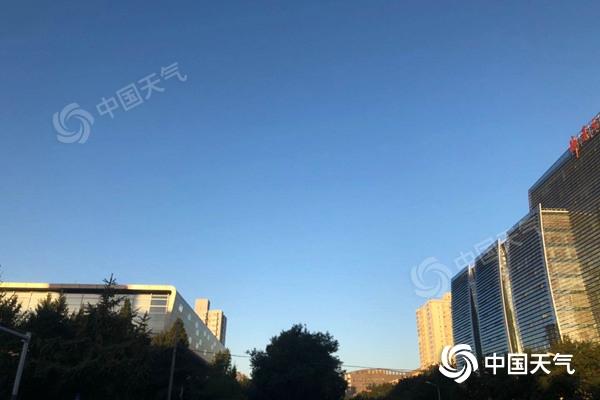 北京周末晴天模式持续 昼夜温差较大超10℃